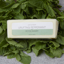 Load image into Gallery viewer, Uplifting Peppermint & Rosemary Body Bar - Tecorra