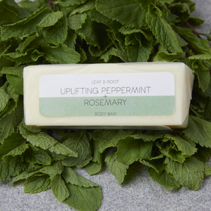 Uplifting Peppermint & Rosemary Body Bar - Tecorra