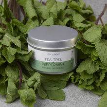 Load image into Gallery viewer, Tea Tree & Peppermint Natural Deodorant