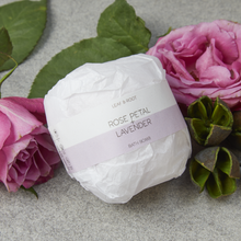 Load image into Gallery viewer, Rose Petal & Lavender Bath Bomb - Tecorra