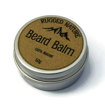 Natural Beard Balm - Unscented - Tecorra
