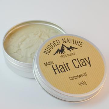 Natural Hair Clay - Cedarwood - Tecorra