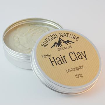Natural Hair Clay - Lemongrass - Tecorra