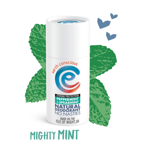 Earth Conscious Natural Deodrant - Tecorra