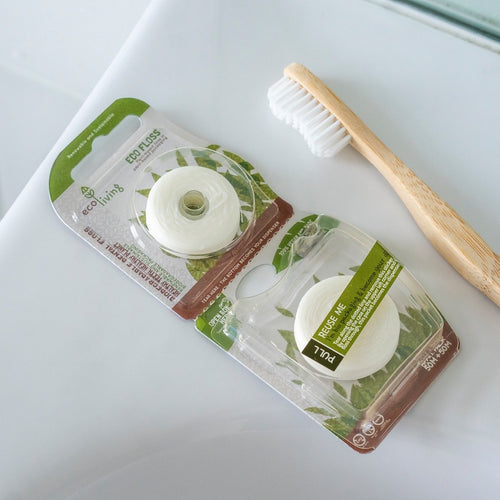 Eco Floss Plastic-Free Dental Floss - Tecorra