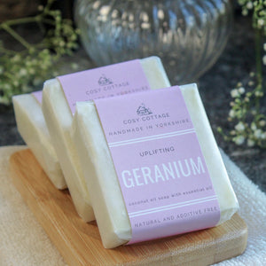 Cosy Cottage Handmade Natural Soap - Geranium
