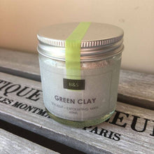 Load image into Gallery viewer, Green Clay Facial Mask - Tecorra