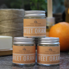 Load image into Gallery viewer, Cosy Cottage Sweet Orange Hand & Body Balm - Tecorra