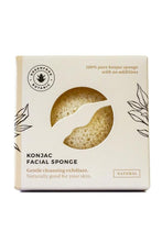 Load image into Gallery viewer, Natural Konjac Plant Sponge by GreenFrog Botanical - Tecorra