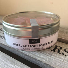 Load image into Gallery viewer, Peony Salt Scrub Foot Bars - Tecorra