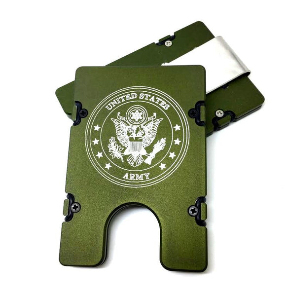US Army Badge EDC Wallet