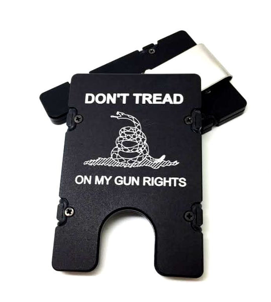 DONT TREAD ON MY GUN RIGHTS BilletVault EDC Wallet