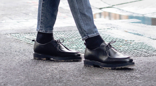 Exploring The City In The James Apron Shoe | Walk London