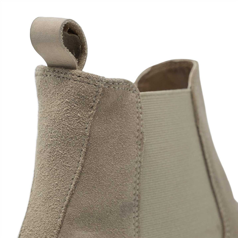 WALK London Carter Chelsea Boot Stone Suede