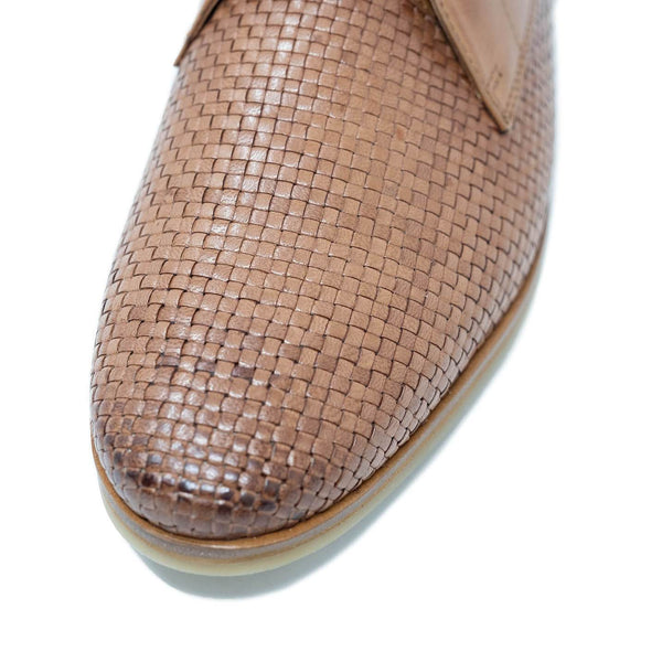 Walk London Chris Woven Lace Up Shoe