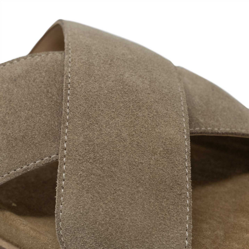 Flax Suede Cross Stap