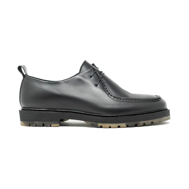 Piped Seam Derby Shoe