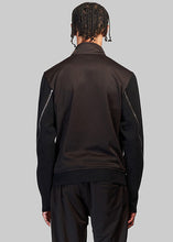 Load image into Gallery viewer, White Emblem Track Jacket