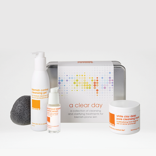 A Clear Day kit for acne prone skin