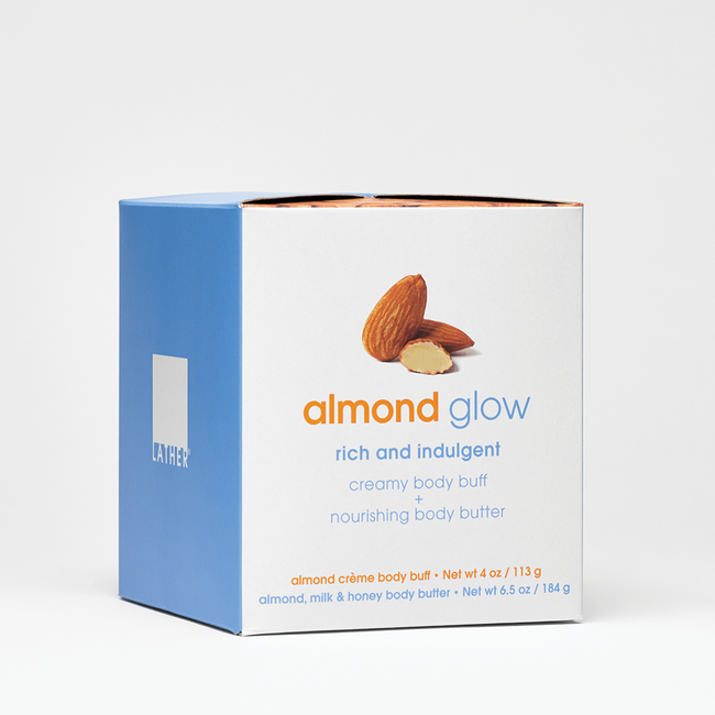 Almond Glow Body Buff & Body Butter