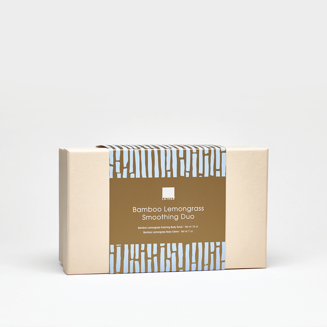 Bamboo Lemongrass Smoothing Duo Reusable Box