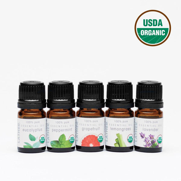 Daily Essential Oil Set Certified USD Organic