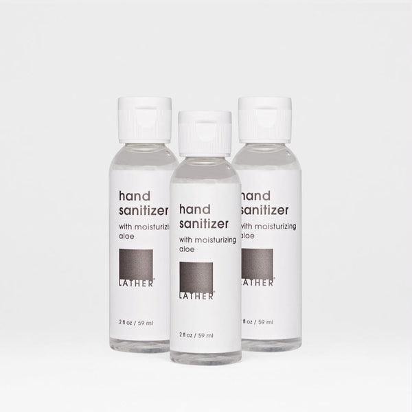 Three bottles of the Hand Sanitizer, size 2 ounce