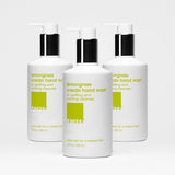 Lemongrass Wasabi Hand Wash, three bottles