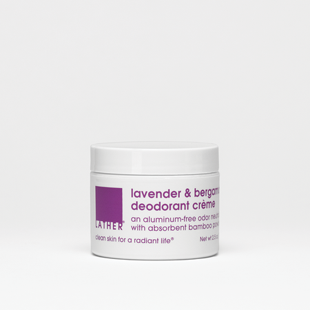 Lavender & Olive Foaming Body Scrub