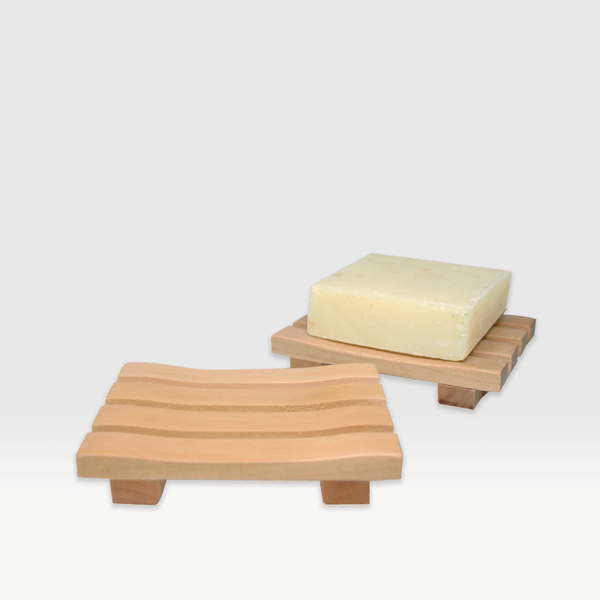 Natural Wood Soap Dish