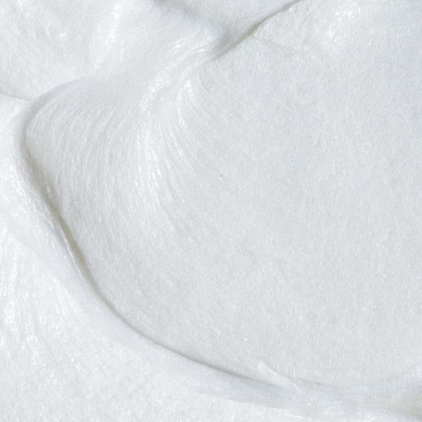 Almond Shave Crème close up image of product to emphasize texture