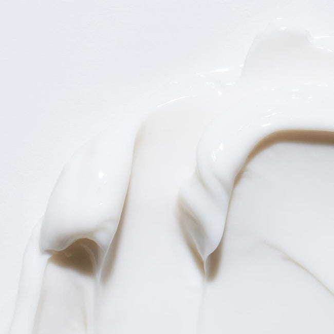 Zoomed in image of the Honey Moisture Mask product, to show rich and creamy texture