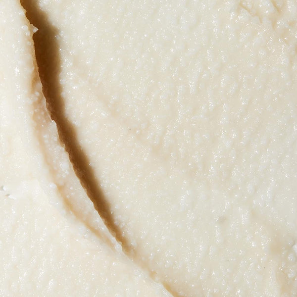 Zoomed in image of LATHER Lavender and Bergamot Deodorant Creme, emphasizing texture