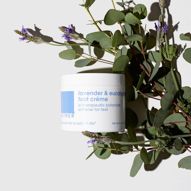 Lavender and Eucalyptus Foot Creme