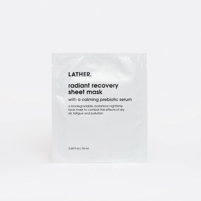 Single Radiant Recovery Sheet Mask