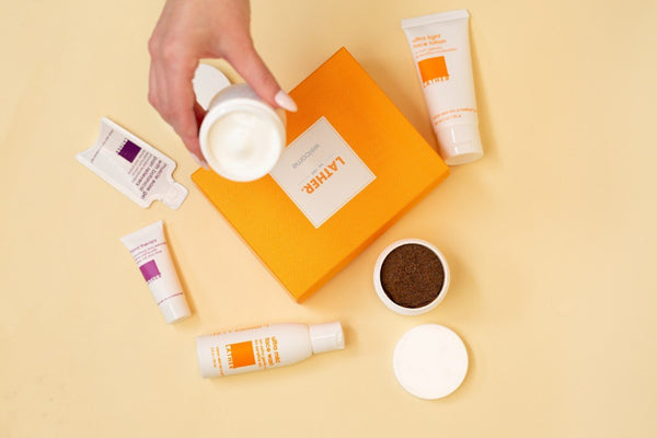 LATHER welcome kit all products