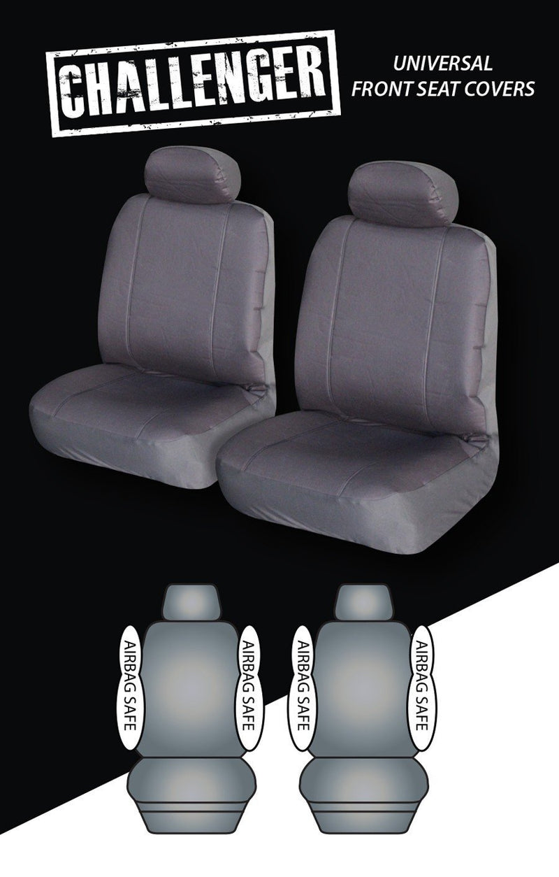 Challenger Universal Front Seat Cover 30/35 | Black