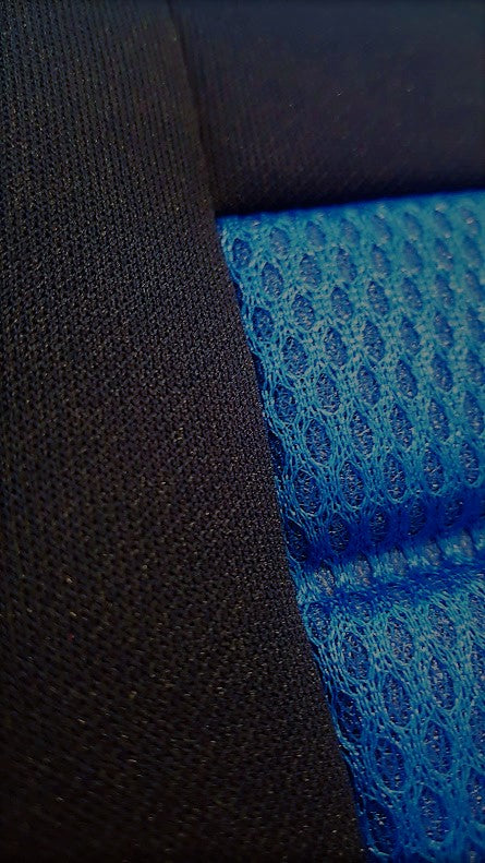 Universal Ice Mesh Rear Seat Covers Size 06/08Z | Blue
