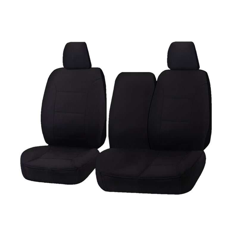Challenger Car Seat Covers For Hyundai Iload Tq 1-5 Series Single/Crew Cab 2008-2020 | Black