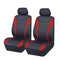 Universal Ultra Light Neoprene Front Seat Covers Size 30/35 - Black / Red
