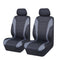 Universal Ultra Light Neoprene Front Seat Covers Size 30/35 - Black / Grey