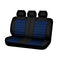 Universal Opulence Rear Seat Covers Size 06/08S - Blue