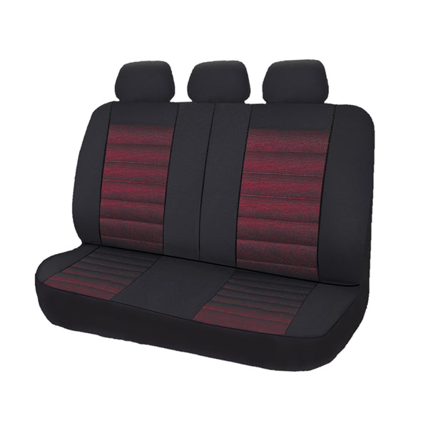 Universal Opulence Rear Seat Covers Size 06/08S - Red