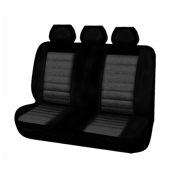 Universal Opulence Rear Seat Covers Size 06/08S - Grey
