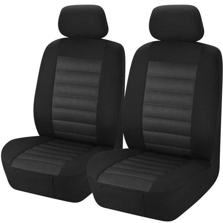 Universal Opulence Front Seat Covers Size 30/35 | Grey