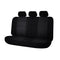 Universal Premium Rear Seat Covers Size 06/08S - Black