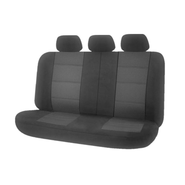 Universal Premium Rear Seat Covers Size 06/08S - Grey