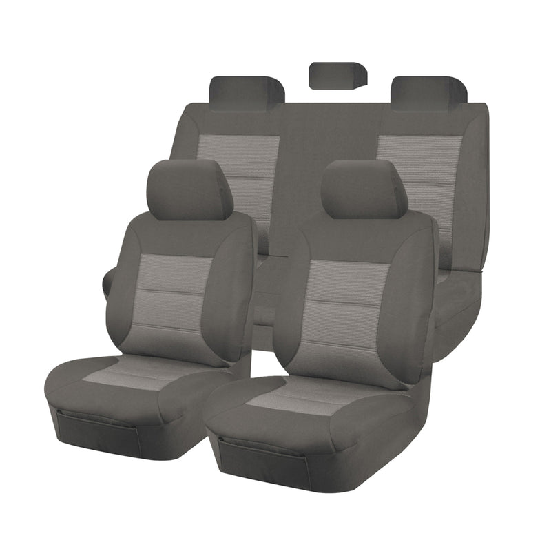 Premium Car Seat Covers For Toyota Hilux 2005-2016 Dual Cab | Grey
