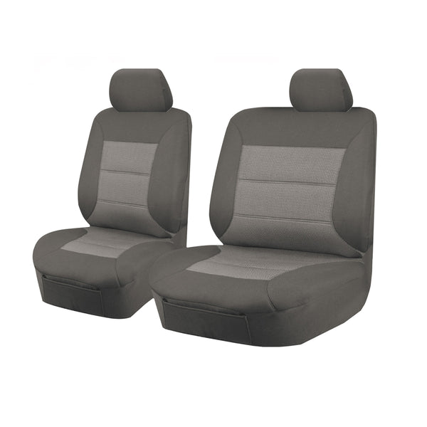 Tailor Made Premium Seat Covers for NISSAN PATROL GQ-GU Y61 SERIES 1999-2016 SINGLE CAB CHASSIS GREY
