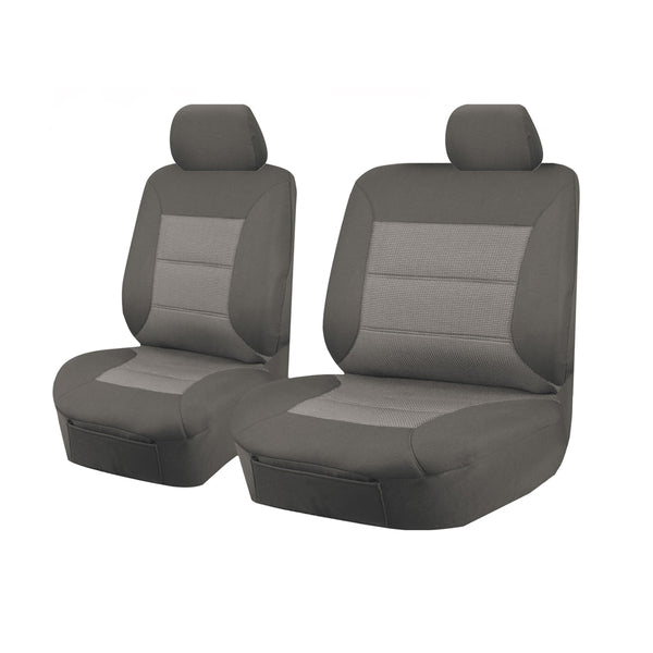 Tailor Made Premium Seat Covers for MITSUBISHI TRITON  ML-MN SERIES 06/2006-2015 SINGLE CAB CHASSIS GREY